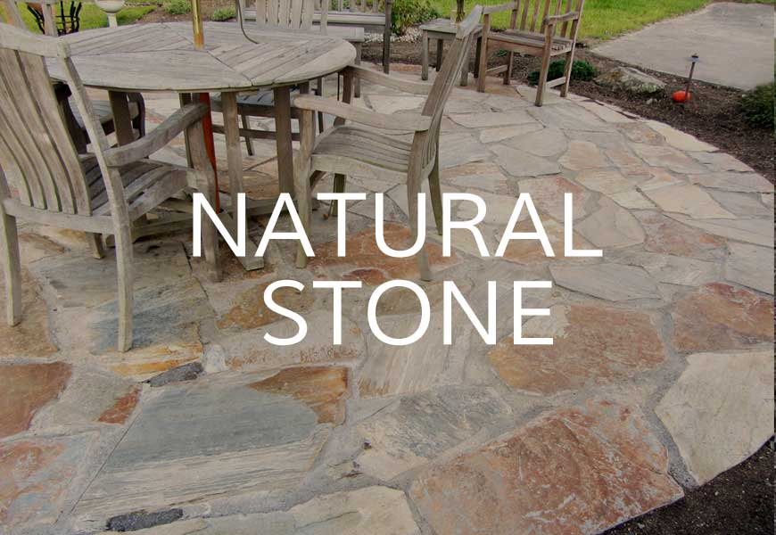 Natural stone projects