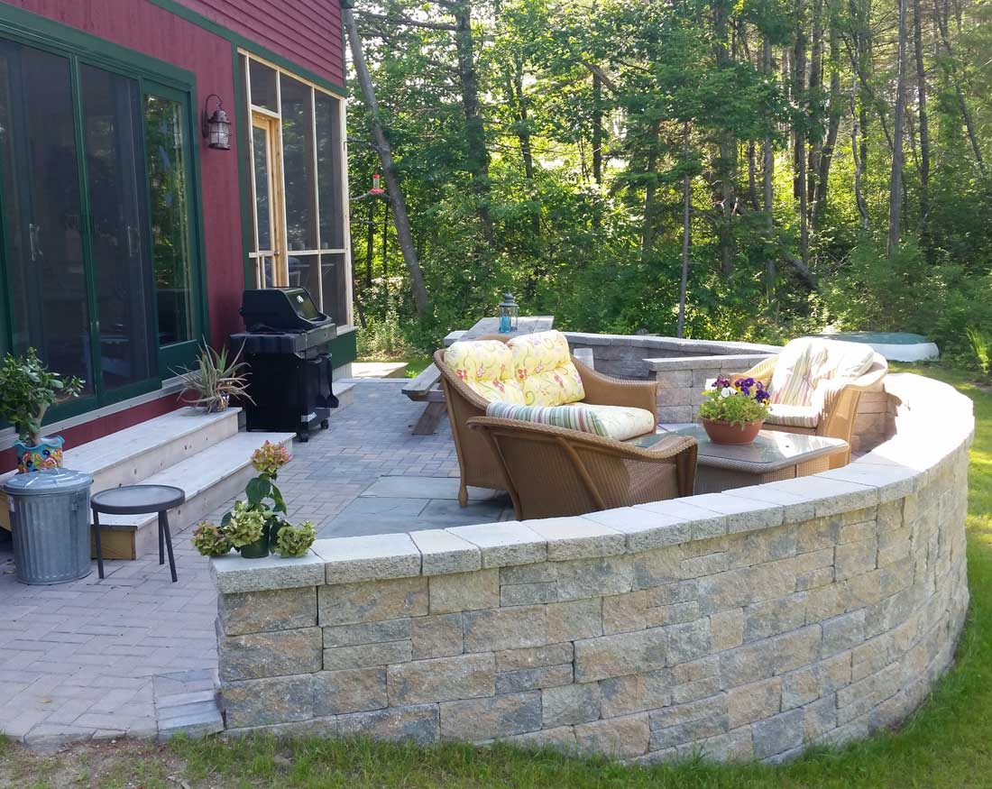 Techo Wall Block and Patio