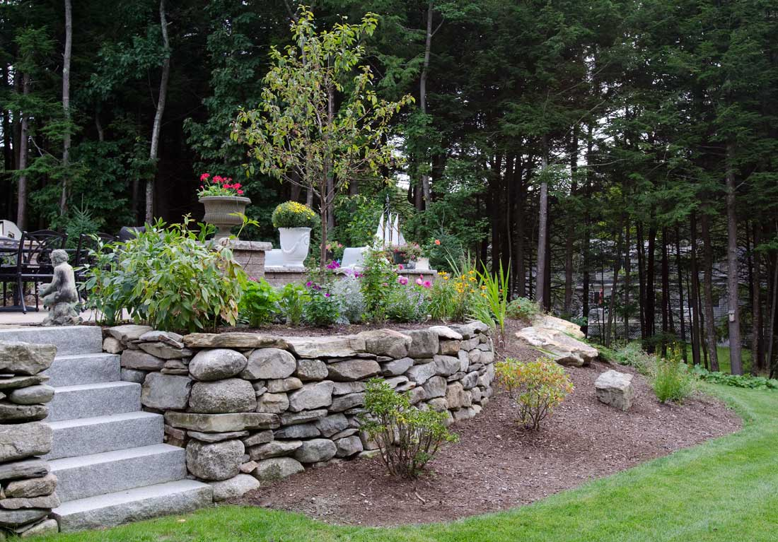 The Dry Stone Retaining Wall